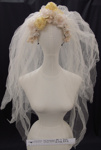 Bridal veil mid 20th Century; Unknown; mid 20th Century; 2002_222