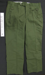 Cotton uniform trousers; Roos Trousers; c.1979-1996; 2005_227_4