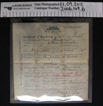 Certificate of Discharge Boer War; New Zealand Forces; 1902; 2006_149_6