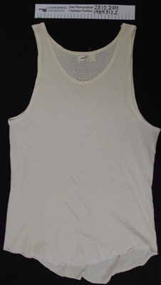 Men's 'Jockey' singlet; Canterbury; mid 20th Century; 1989_712_2