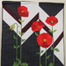 Spirit of ANZAC' poppy quilt; Lyn King; 2010; 2010_65_1