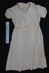 Dress and belt; Unknown; c.1940-50's; 2005_41_1-2