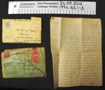 Letters WW2; 1941-1944; 1994_163_1-3