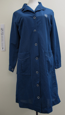 N.Z. Post Ltd. smock uniform mid 1980's; Howard Uniforms; mid 20th Century; 2005_18_6