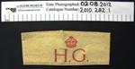 Home guard armband WW2; c.1939-1945; 2010_282_1