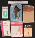 Collection of hosiery; Penneys; c.1960's; 1994_8_1-6