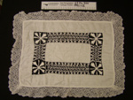 Dressing table runner; Unknown; Unknown; 1991_113