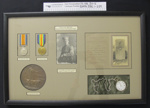 Framed medals, 33610 L/Cpl. Richard William Paul Nederick RINTOUL; c.1919; 2005_236-239