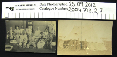 Collection of postcards; 1914-1918; 2004_713_1-21