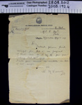 Letter Home Guard WW1.; Lt. H. McCarroll; 1917-1920; 2005_192_4,8-10