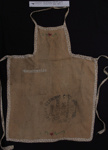 Apron made from sugar bag; Colonial Sugar Refining Co Ltd; 1950's; 2011_139_1_1