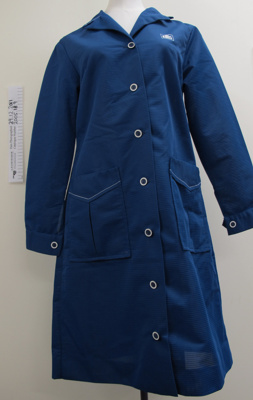 N.Z. Post Ltd. smock uniforms c.1970-80's; Action Uniforms Ltd.; mid 20th Century; 2005_18_9