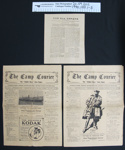 WW1 soldiers newspapers; 19th Reinforcements; 1916-1917; 1990_1351_1-3