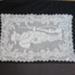 WW1 crochet Tray cloth; Unknown; Unknown; 2019.28.1.1