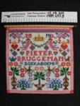 Needlework sampler; Unknown; 1923; 1989_697_8