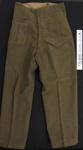 WW2 Military trousers; Unknown; 1939-45; 2007_42_4