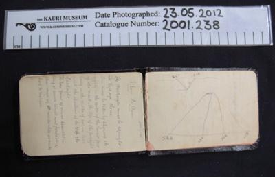 Note book WW1; 1916-1918; 2001_238