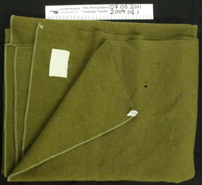 Army Blanket; Beacon MFG Co; c.1939-1945; 2009_116_1