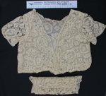 Lace blouse and shawl; Unknown; Unknown; 1990_288_1-2