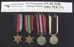 WW2 Medals; c.1941-1945; 2003_738_1-4