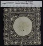 Maltese lace handkerchiefs; Unknown; c.1900's; 1983_150_1-2