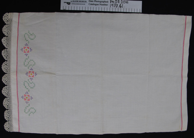 Hand towel; Unknown; Unknown; 1977_61