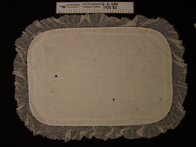 Linen table centre; Unknown; Unknown; 1977_85