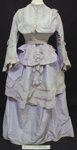 Coates Wedding Gown; 1873; 1990.1053.1-5