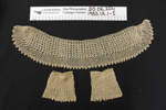 Collar and cuff set; Unknown; Unknown; 1983_116_1-3