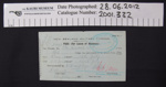 Leave for Absence Pass; New Zealand Military Forces; 6th July 1916; 2001_332