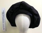 Black beret hat mid 20th Century; Yvette Tressor; mid 20th Century; 2003_306_2