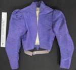Purple moire jacket; Unknown; c.1890-1910; 1990_820_1