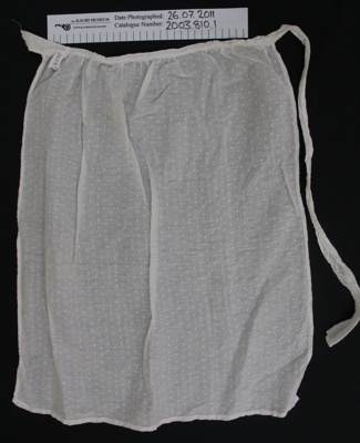 Aprons; Unknown; Unknown; 2003_810_1-2