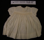Baby gown; Unknown; Unknown; 2005_131