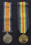 WW1 Medals; c.1914-1920; 2001_326_1-2