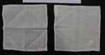 Handkerchiefs; Margaret Cossar; 1895; 2000_335_1-2
