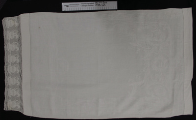 Linen towel; Unknown; Unknown; 1993_265