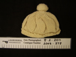 Baby's hat; Unknown; Unknown; 2003_378