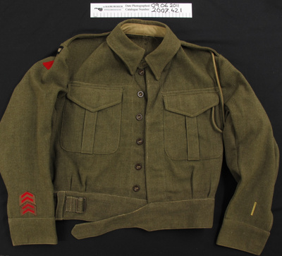 WW2 Military Jacket; Unknown; 1939-45; 2007_42_1