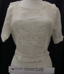 White muslin blouse c.1900's; Unknown; c.1900's; 1999_15