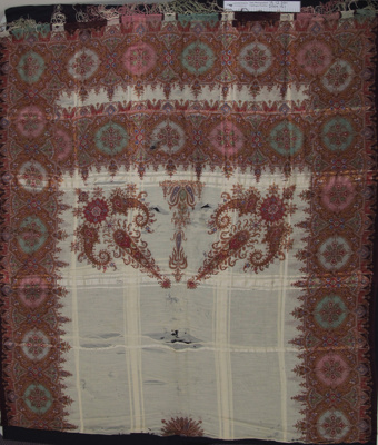 Cashmere, silk throw; Unknown; Unknown; 2004_151