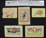 Greeting cards, WW1; 1914-1918; 2002_111_1-5