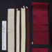 Silk ribbon; Unknown; Unknown; 1990_867_1-11