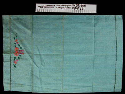 Hand towel; Unknown; Unknown; 1977_58
