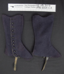 Gaiters; Unknown; late 19th Century; 1990_837_1-2