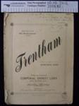 Music sheet 'Trentham'; Corporal Ernest Luks; 1917; 2008_57_1