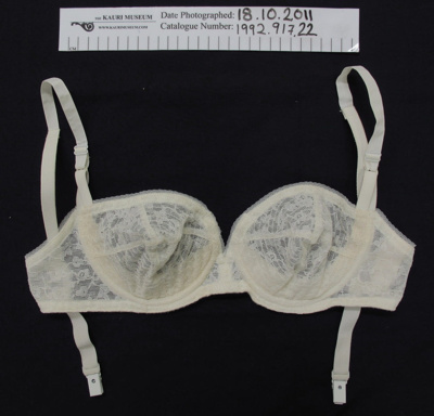 Backless Berlei bra; Berlei; c.1950's; 1992_917_22