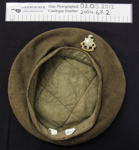 WW2 uniform beret Royal Sussex; 1939-1945; 2004_67_2