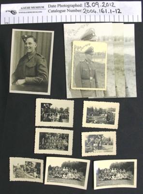 Photographs, German WW2; c.1939-1946; 2004_161_1-12