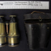 Binoculars in a leather case; early 20th century; 1990_401_1-2
